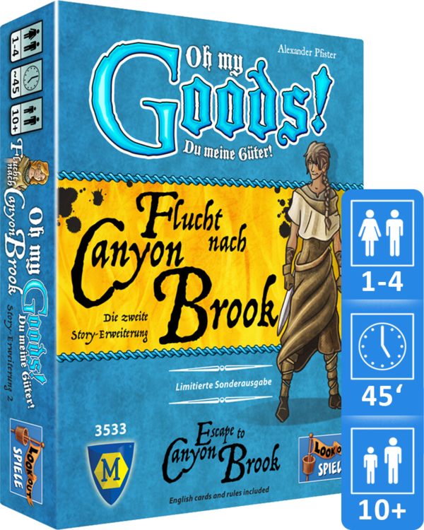 Oh My Goods - Flucht nach Canyon Brook / Escape to Canyon Brook