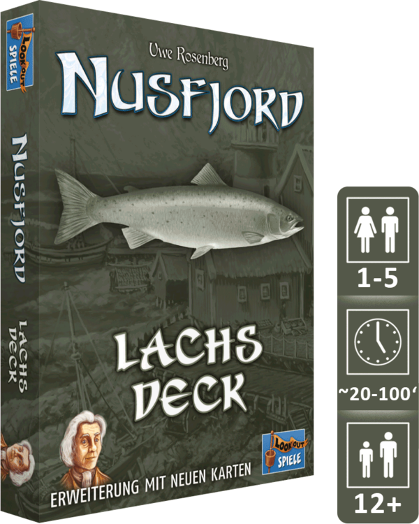 Nusfjord - Lachs-Deck